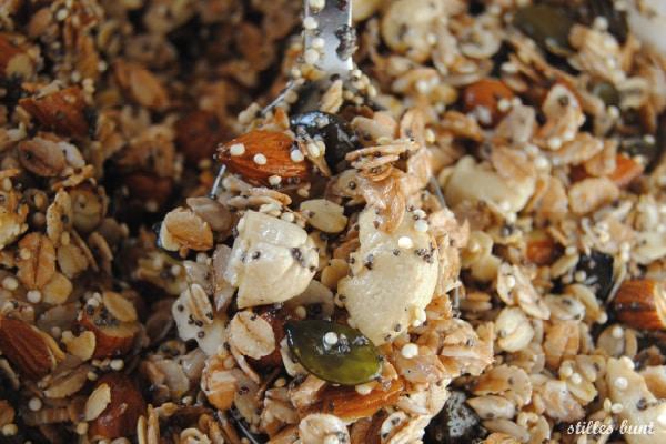 diy quinoa granola 2