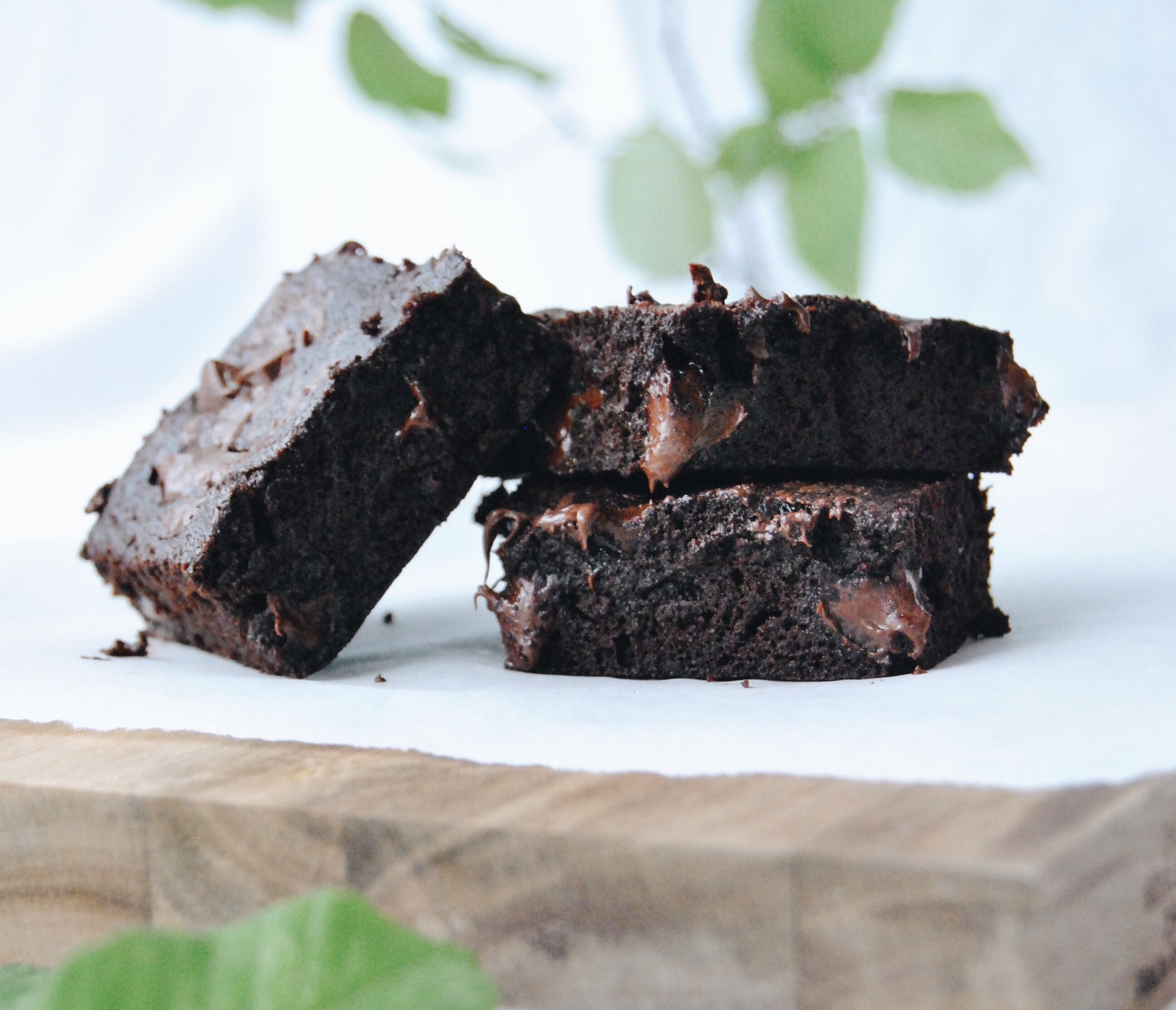 Kokosmehl Brownies 6