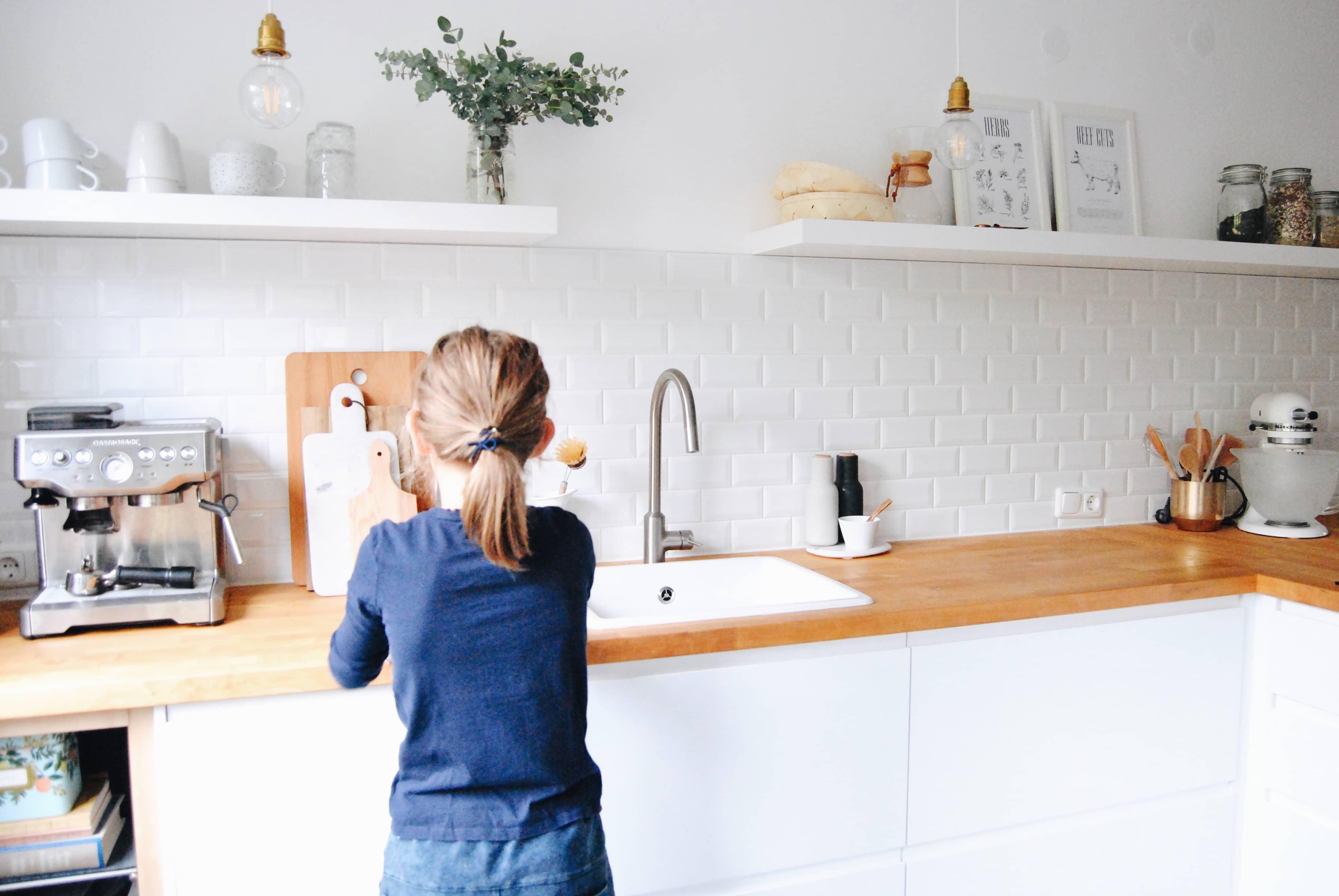 scandinavian kitchen, Küchentour