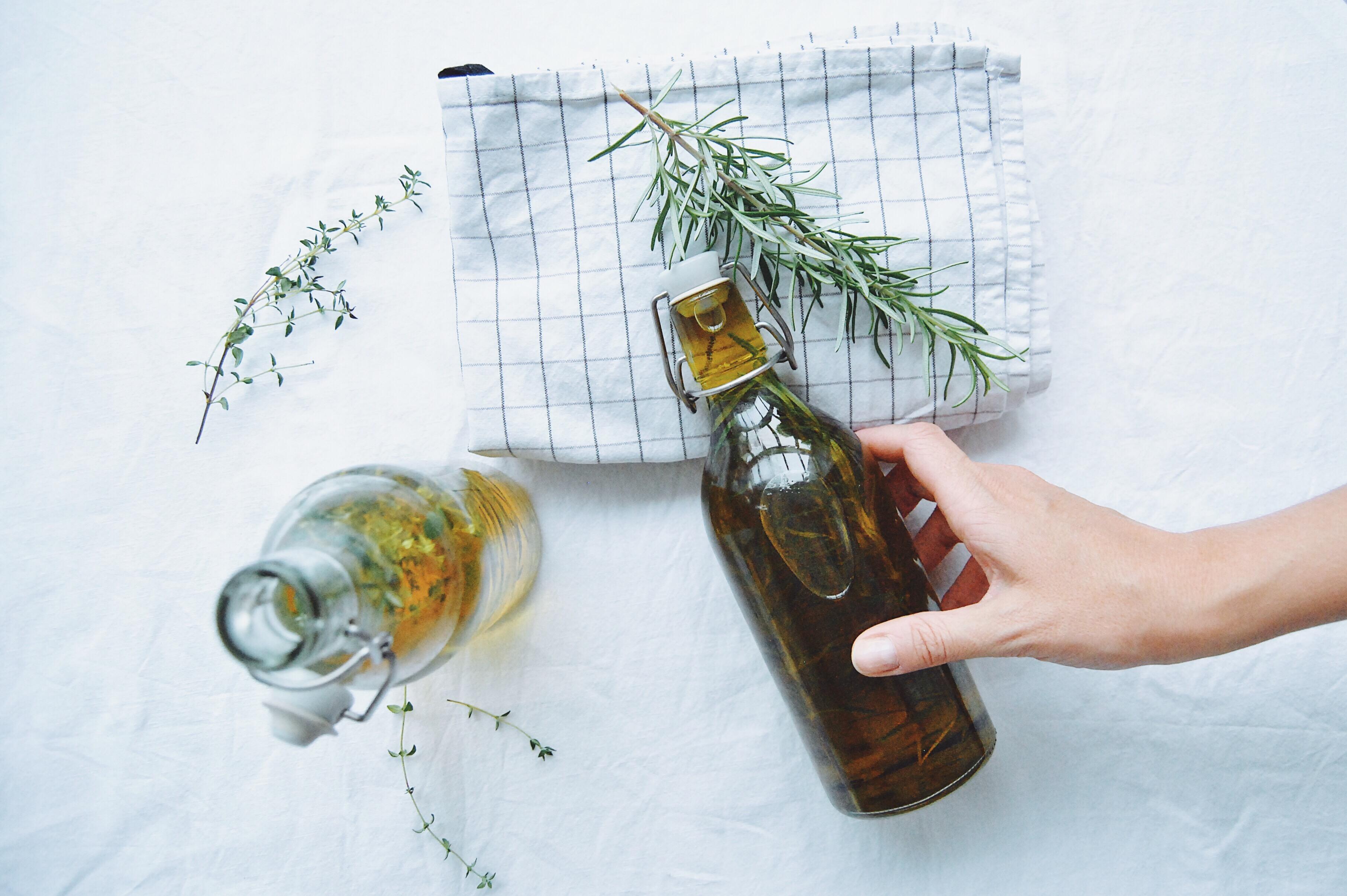 Kräuteröl selbst gemacht